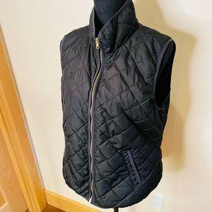 Old Navy Quilted Vest w/ Gold Zipper SZ L❤️